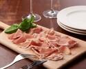 Itarian prosciutto and salami assortment