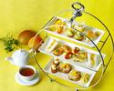 【7/1~・平日限定】 完熟したマンゴーを使った マンゴーアフタヌーンティー