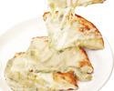 Gorgonzola cheese naan