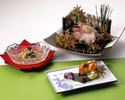 【Dinner】 日本料理 蒼天(旬)9月1日~9月30日