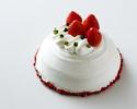 <テイクアウト>アニバーサリーショートケーキ 18cm