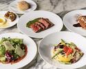 【期間限定30%OFF】牛肉のブレザオラや選べるパスタ・メイン・デザートが付いた全4品