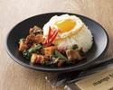 [TAKE OUT] Crispy pork Gapao Rice