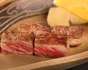 Japanese Black wagyu-beef fillet set menu
