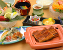★HP予約限定プラン★【7/1~9/30】うなぎ会席+コーヒー付き