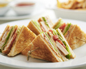 【Online Special lunch】 Club sandwich+Welcome drink