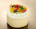 フルーツショートケーキ 6号サイズ