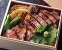 【期間限定メニュー】国産牛フィレ肉のステーキ重