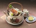 """【期間限定""""松茸の土瓶蒸し""""付き!】造り・治部椀・焼物など季節の懐石~百成~+乾杯ドリンク"""