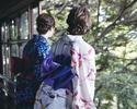 【WEB予約限定1ドリンクプレゼント】平日限定ランチブッフェ/女性(綿麻素材)浴衣プラン