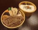 【お出前】松茸すき焼弁当¥4320