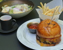 Sustainable burger lunch set