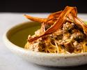 【選べるランチパスタ】旬の食材が彩る秋のパスタ、サラダ&スープ