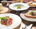 【TS】【ディナー】USプライムビーフのバベットステーキなど全5品