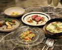 【期間限定20%OFF!】旬の食材をたっぷり使用した全5品のディナーコース