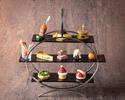 【Noël イブニングハイティーセット】乾杯ドリンク付き シェフ特製オードブル&デザート・苺のミルフィーユ