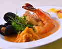 《ディナー》 Menu La Larvotto ~ラルヴォット~ メインディッシュ【魚料理】