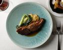 【最低価格保証】魚・肉Wメインを含む季節のコース全5品ランチコース!スパークリングワイン&記念日プレート付