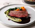 【最低価格保証】パリ本店の味をリアルに表現!肉料理・魚料理など季節のフルコース全5品♪スパークリングワイン&記念日プレート付