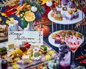 【10/4〜★HALLOWEEN】SNSで大人気のお祝いフラワープレート×生の薔薇で装飾した豪華テーブル