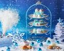 【平日】スノープリンセスアフタヌーンティー~雪の女王~ロイヤルブルー