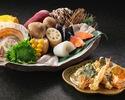 【天ぷらディナー】事前決済20% 選べる天ぷらコース
