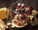 《12/4,12/11,12/27~12/31》ロクシタン×クリスマス 乾杯スパークリングワイン付きアフターヌーンティー
