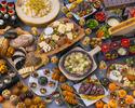 【金曜日のディナーはファミリーデー!】チーズフルハロウィンディナービュッフェ