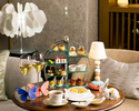 [Afternoon tea set] with drink