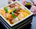 ★ディナー【嬉しいデザートプレート付き!】七五三お祝いプラン~お祝いちらし寿司とともに~