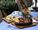 【バルエリア】~Casual Plan~2H飲み放題付き!肉グリル3種盛合せなど全7品、大皿プラン
