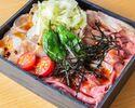 【お肉ダブル】ローストビーフ&ローストポーク丼