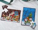 ◆クリスマスチョコレートパズル〈サンタ&トナカイ〉縦型