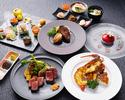 【Xmas2021早割】<聖夜A> ベビーシャンパン付!神戸牛フィレとロースの食べ比べなどクリスマス豪華コース!  <<早割Web予約価格は12/10まで!>>