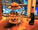 【ラウンジ&バー】ミニバーガーを含む8種のカナッペ+選べるメイン+フリーフロー&グラスシャンパーニュ1杯付き🥂