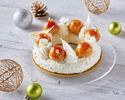 サントノーレ~マンゴーパイナップルキャラメルチーズケーキ~約18cm