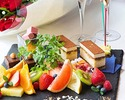 【DINNER ANNIVERSARY PLAN】豪華食材を使用した全5品+シャンパン(ハーフボトル)&ペアリング+記念日プレート+名前入りお土産
