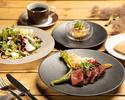 [TS] [Lunch] Appetizer, US prime beef babette steak, etc.