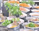 【Lunch Buffet】 10/1~シンガポールフード&オータムスイーツブッフェ 11:00~12:00 のご入店(休日90分制)