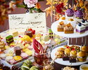 【11/1〜秋の味覚】SNSで大人気のお祝いフラワープレート×生の薔薇で装飾した豪華テーブル