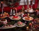 【土日祝ブランチ11月3日-12月19日】 プレクリスマス&ベリースイーツビュッフェ ドリンクバー付~公式HPプラン!!大人様⇒10%OFF