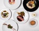 「☆総額1,000万円キャッシュバック対象プラン」【DINNER COURSE】アミューズ、前菜、魚料理、肉料理、デザートの全5品
